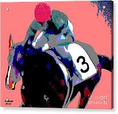 Play The Horses By Taikan Acrylic Print