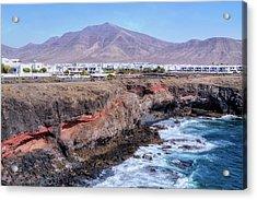 Playa Blanca - Lanzarote Acrylic Print