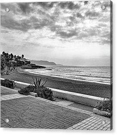 Playa Burriana, Nerja Acrylic Print