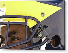 Player In Winged Helmet Acrylic Print