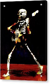 Acrylic Print featuring the photograph Player by Jeff Gettis