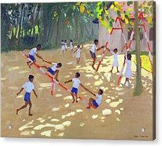 Playground Sri Lanka Acrylic Print