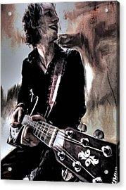 Playin' Grunge Acrylic Print