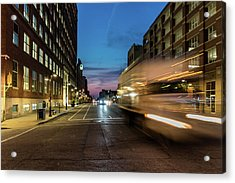 Acrylic Print featuring the photograph Playing In Traffic by Randy Scherkenbach