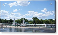 Playland Beach Boardwalk Acrylic Print