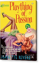 Acrylic Print featuring the painting Plaything Of Passion by Reginald Heade