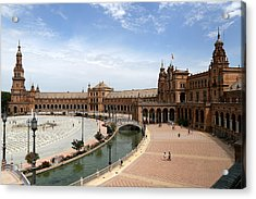 Acrylic Print featuring the photograph Plaza De Espana 4 by Andrew Fare