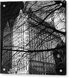 Acrylic Print featuring the photograph Plaza Hotel by Dave Beckerman
