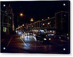 Plaza Lights Acrylic Print