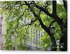 Acrylic Print featuring the photograph Plaza San Martin by Wilko Van de Kamp