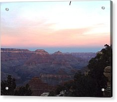 Pleasant Evening At The Canyon Acrylic Print by Adam Cornelison