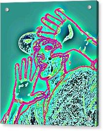 Please No Photos Acrylic Print by Sheri Buchheit