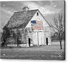 Pledge Of Allegiance Crib Acrylic Print
