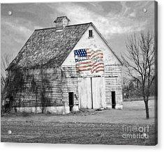 Pledge Of Allegiance Crib Acrylic Print