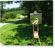 Plein Air Painter's Studio Acrylic Print