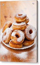 Plenty Doughnuts Or Donuts With Holes  Acrylic Print by Arletta Cwalina