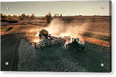 Plow The Fields And Scatter  Acrylic Print