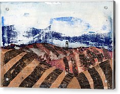 Plowed Spring Acrylic Print by Jame Hayes