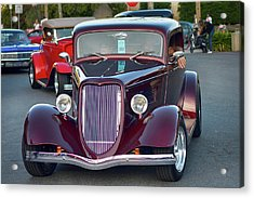 Plum 34 Coupe Acrylic Print by Bill Dutting
