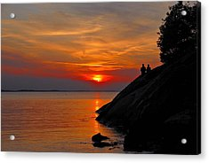 Plum Cove Sunset Acrylic Print