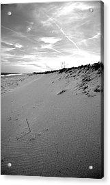 Plum Island Black And White Acrylic Print by Sue OConnor