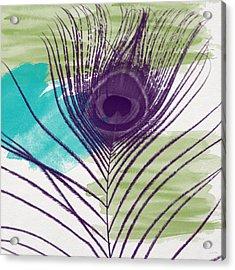 Plumage 2-art By Linda Woods Acrylic Print