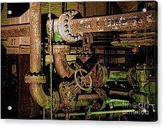 Plumbing Acrylic Print