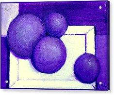 Plums Acrylic Print