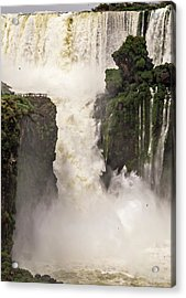 Acrylic Print featuring the photograph Plunge by Alex Lapidus