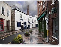 Plymouth Gin Distillery Acrylic Print by Donald Davis