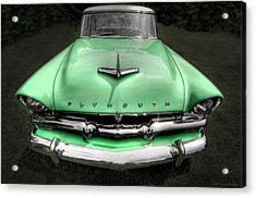 Plymouth Acrylic Print by Jerry Golab