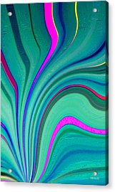 Acrylic Print featuring the digital art Pm2117 by Brian Gryphon