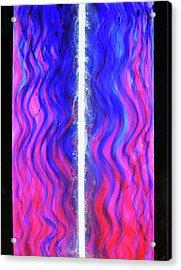 Pneuma Flow Acrylic Print by Tom Hefko