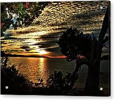 Pocasset Sunset Acrylic Print