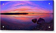 Pocomoonshine Sunset Acrylic Print