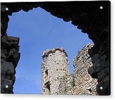 Acrylic Print featuring the photograph Podzamcze Castle Tower by Maciek Froncisz