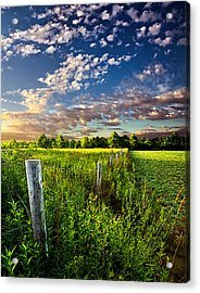 Poems Prayers And Promises Acrylic Print by Phil Koch