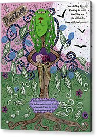 Poetree Acrylic Print