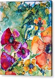 Poetry Of Petals Acrylic Print