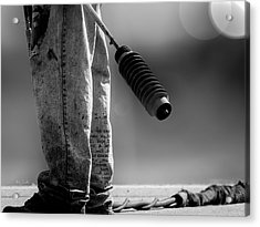 Poetry Pants And Flamethrower  Acrylic Print by Bob Orsillo