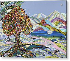 Poet's Lake Acrylic Print