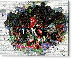 Pogba Street Art Acrylic Print