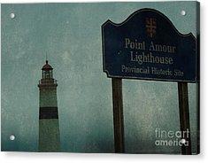 Point Amour Lighthouse, Newfoundland And Labrador, Canada Acrylic Print by Eye Travel
