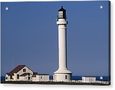 Point Arena Lighthouse Acrylic Print by Soli Deo Gloria Wilderness And Wildlife Photography