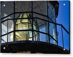 Point Bonita Light House Acrylic Print by Miranda Strapason