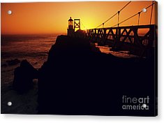Point Bonita Lighthouse Acrylic Print by Brent Black - Printscapes