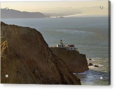 Point Bonita Lighthouse In San Francisco Acrylic Print