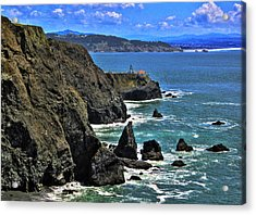 Acrylic Print featuring the photograph Point Bonita Lighthouse by Richard Stephen