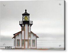 Point Cabrillo Light Station - Mendocino Ca Acrylic Print by Christine Till