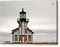 Point Cabrillo Lighthouse California Acrylic Print by Christine Till